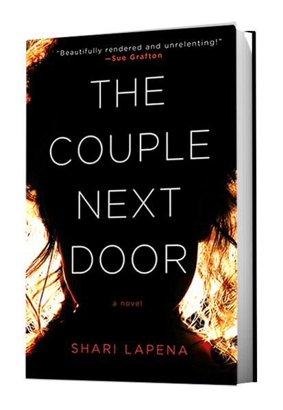 The Couple Next Door by Shari Lapena US Cover
