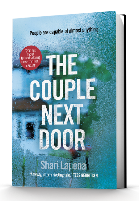 The Couple Next Door by Shari Lapena UK Cover